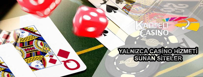 Yalnızca Casino Hizmeti Sunan Siteler