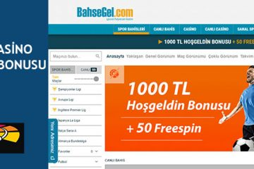 BahseGel Casino Para Yatırma Bonusu